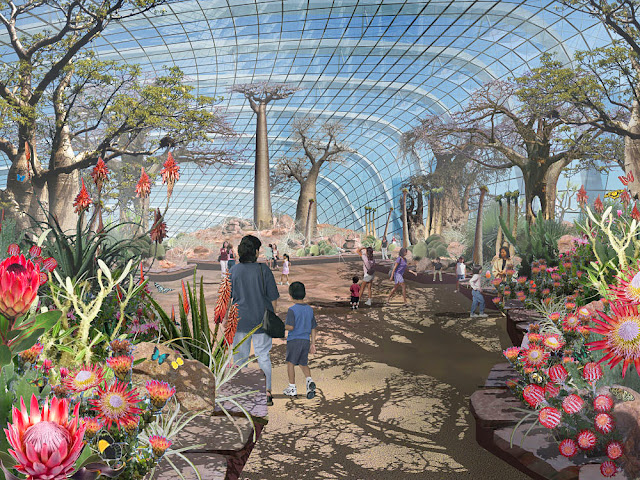Singapore Gardens By The Bay Artist Impression