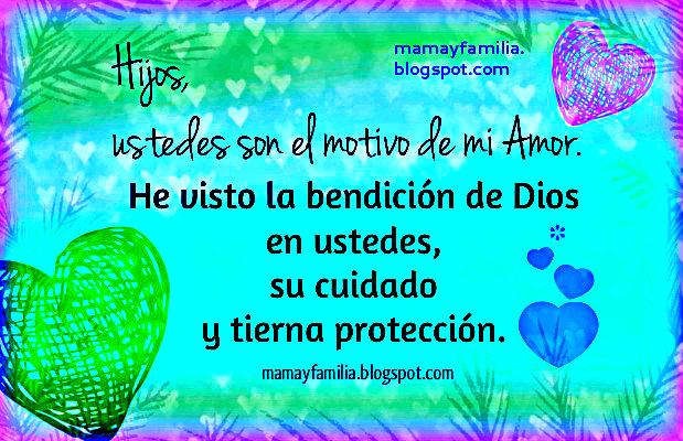 Frases De Amor Incondicional 3 A: Para Mis Hijos Con Amor Incondicional
