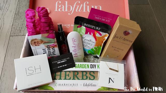 spring 2016 fabfitfun subscription box