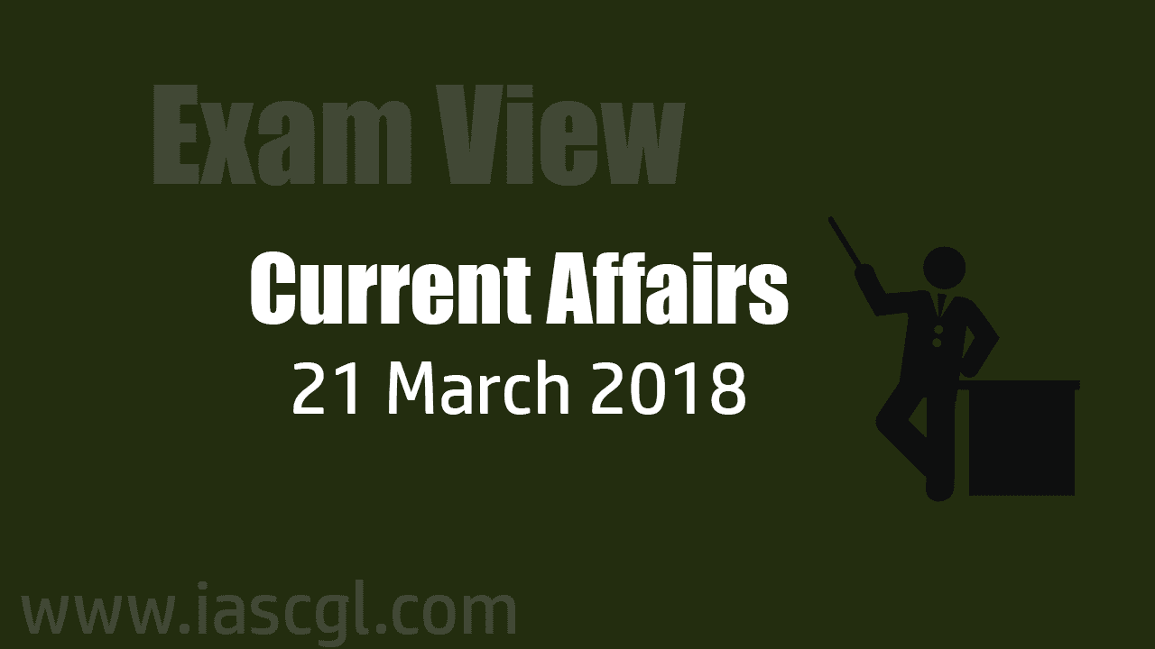 Current Affair 21 march 2018