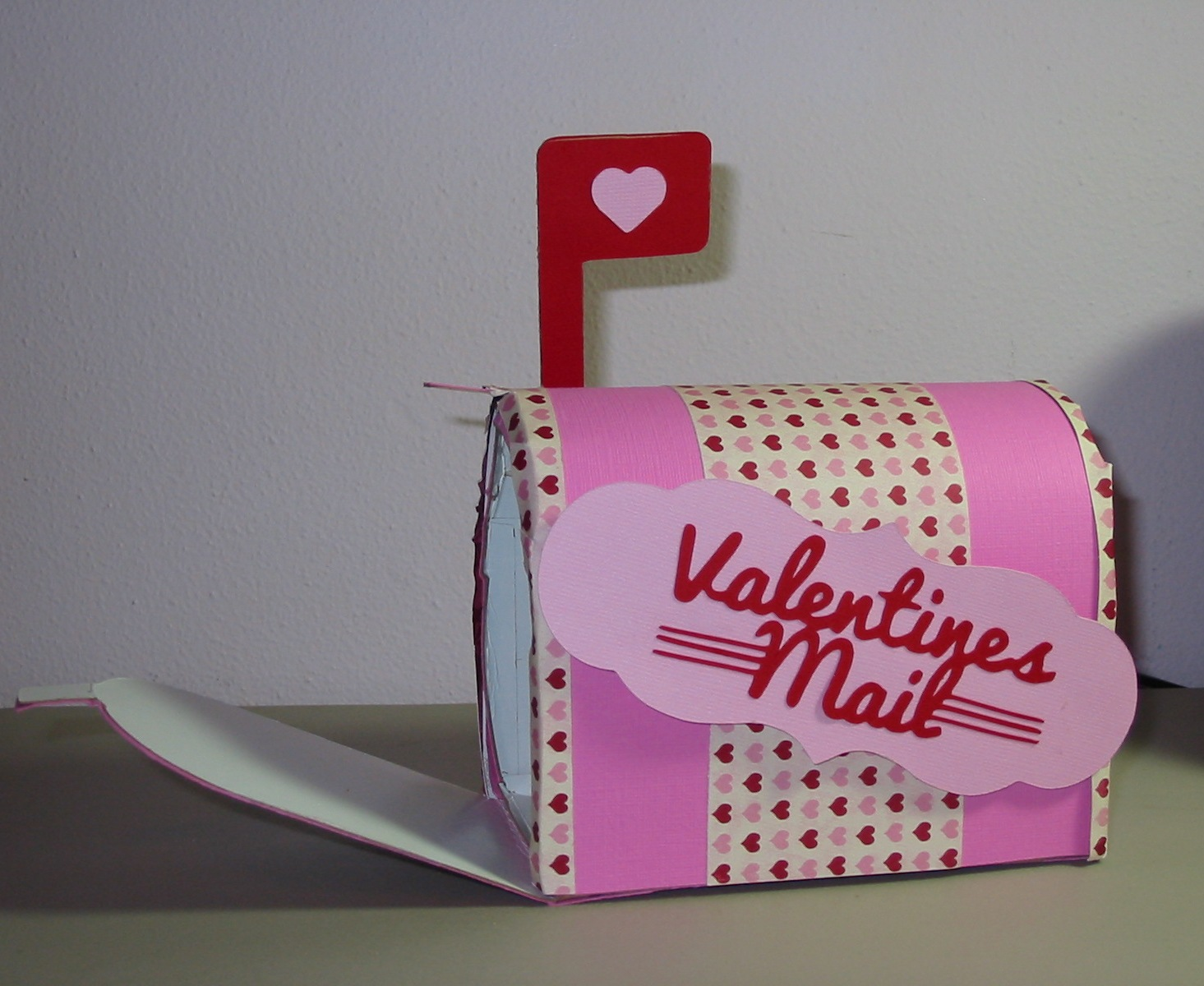 3D Valentine Boxes  For The Mailbox Cut At 6quot . 1465 x 1200.Valentine Mailbox For Kids To Make