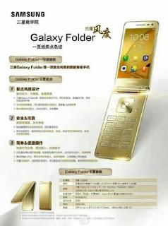 Samsung Galaxy Folder 2 Details