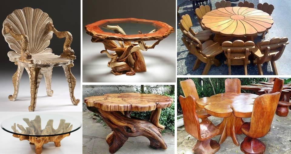 22 Best Eye Catching Unique Handmade, Handmade Wood Furniture