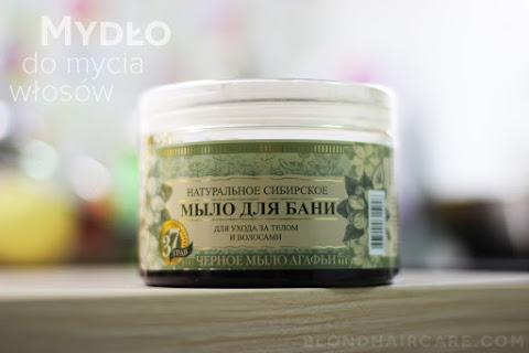 Czarne syberyjskie mydło do mycia włosów | Trawy i zioła Agafii - czytaj dalej »