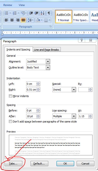 Cara Memberi Titik Titik Pada Daftar Isi : memberi, titik, daftar, Membuat, Daftar, (titik-titik), Dengan, Tabulasi, Fandi, Media
