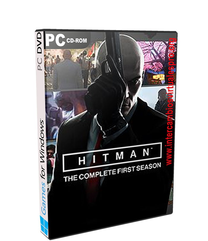 HITMAN The Complete First Season Linux poster box cover