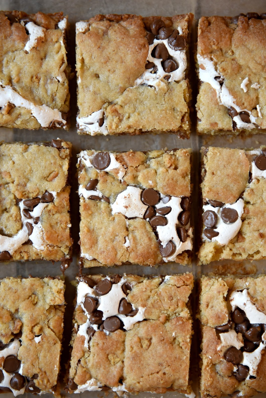 S'mores Cookie Bars Recipe