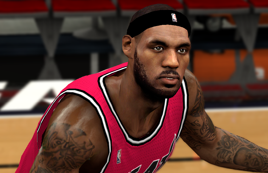 Next-Gen PC Mod LeBron James NBA2K14