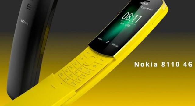 """Nokia """"Pisang"""" 8110 Bakal Kebagian WhatsApp"""