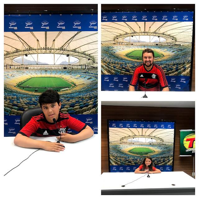 Tour Maracanã - Sala de imprensa