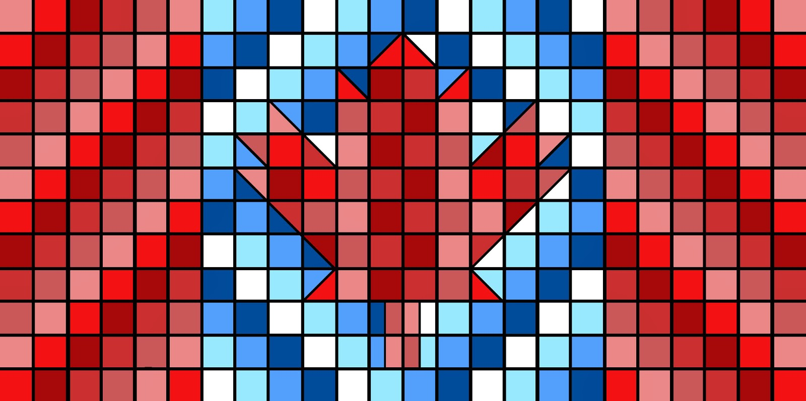 Tools & Tulle: Canada Flag Quilt Pattern : canadian flag quilt - Adamdwight.com