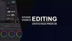 Sofware Video Editor Gratis Berfitur Premium