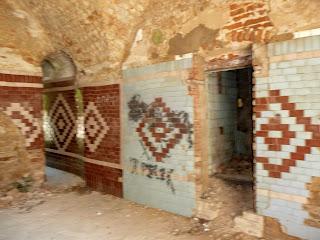 Клевань. Замок Чарторыйских. Внутренние помещения крепости-вытрезвителя