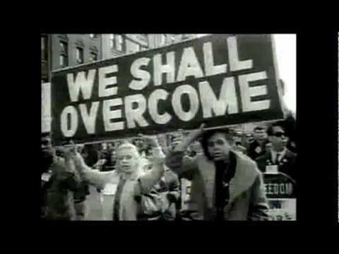 We shall overcome photograph for MLK Day Rally.
