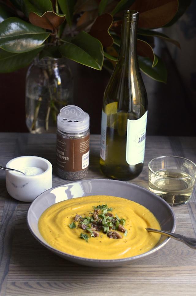 chipotle maple butternut squash soup