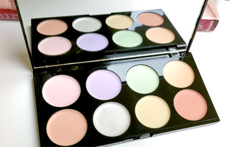 Productos de maquillaje para el rostro : Correctores de colores