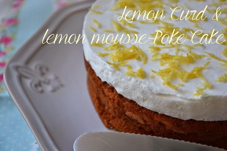 Lemon curd and lemon mousse