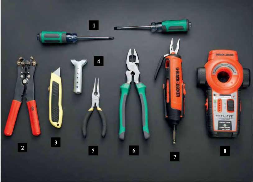 Instalaciones el ctricas residenciales 14 herramientas for Herramientas de un cocinero