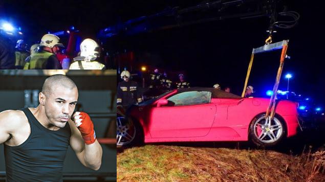 """""""Εμεινε"""" ο Μιχάλης Ζαμπίδης στην Κηφισού με την Ferrari 430 Spider!"""