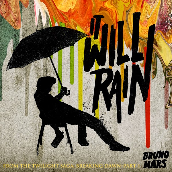 Bruno Mars - It Will Rain - Single Cover