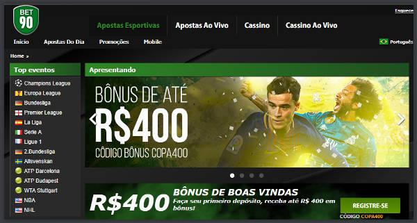 Bet90 Apostas Online