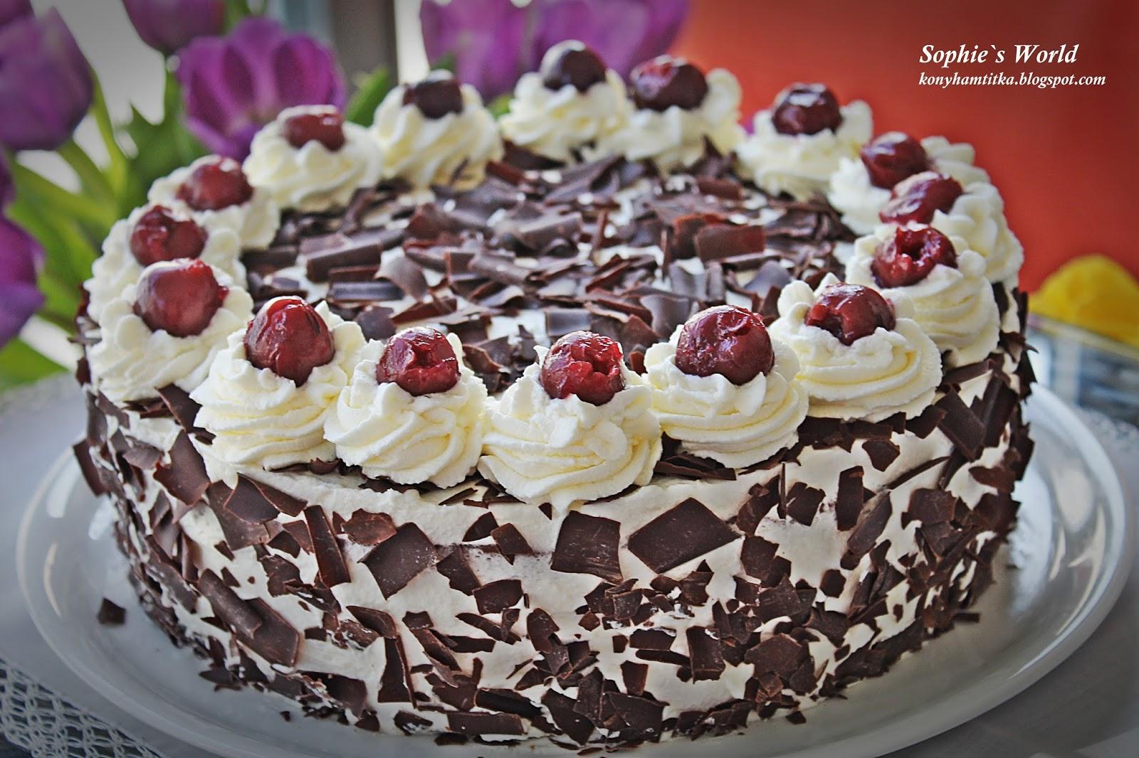 Schwarzwald Torte Original