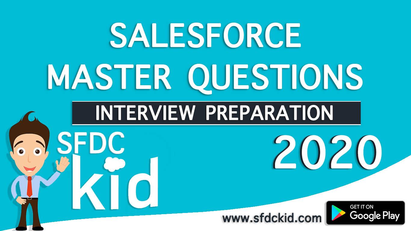 Master Salesforce Developer Interview Questions 2020