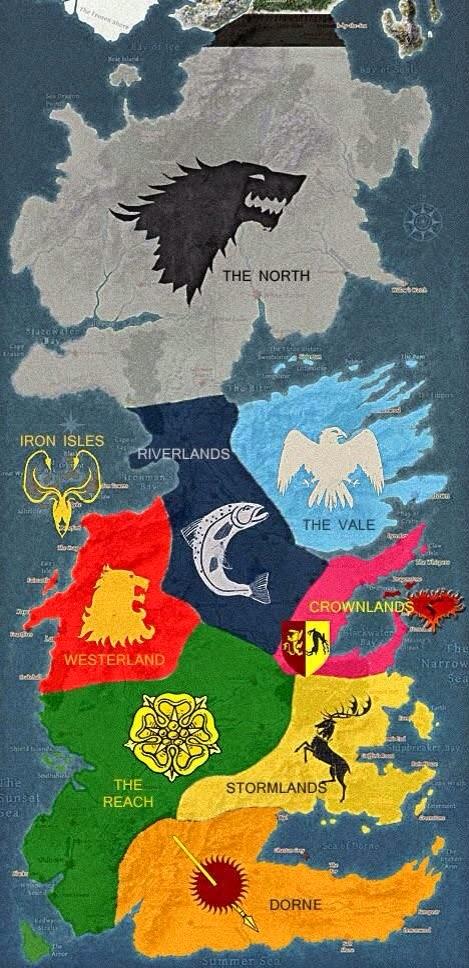 Got Karte Deutsch.Landkartenblog Landkartensammlung Von Games Of Thrones