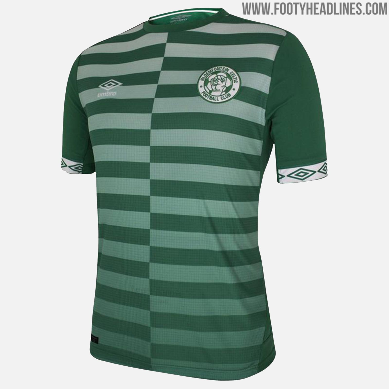 best website 1a136 e3644 Stunning Umbro Bloemfontein Celtic 18-19 Home & Away Kits ...