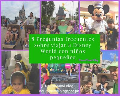 Disney World con niños pequeños preguntas frecuentes y tips