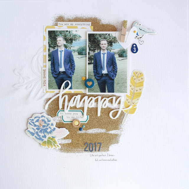 "scrapbook layout ""happy"" by kushi 