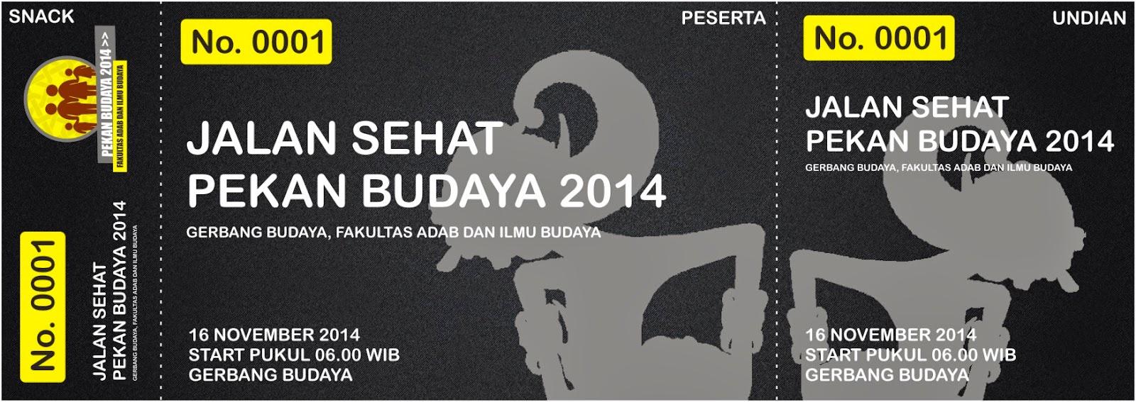 portofolio   event pekan budaya 2014