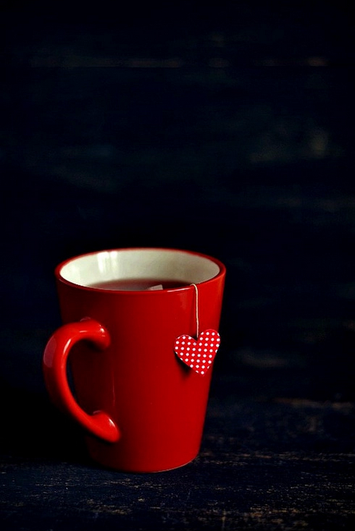 Red Cup of Tea with love 2016