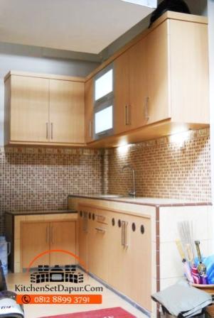 Jasa pembuatan kitchen set ciputat hub 0812 8899 3791 bb for Harga kitchen set stainless per meter