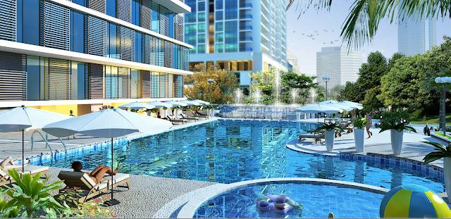 Hồ bơi chung cư centa Park Tân Bình