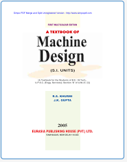 Design Of Machine Members Textbook Pdf