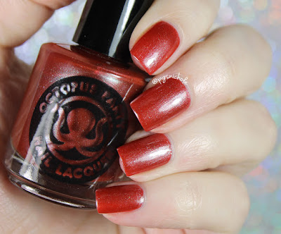 Octopus Party Nail Lacquer Drowned Deep in Shadow