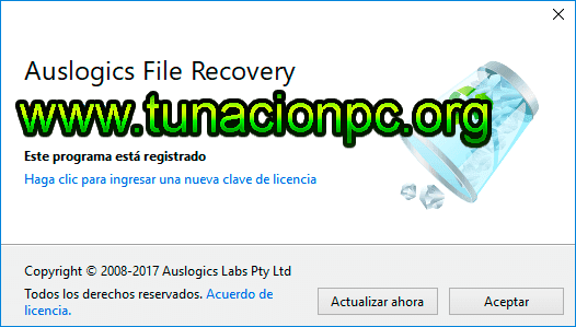 Auslogics File Recovery, Recupera tus Archivos Eliminados