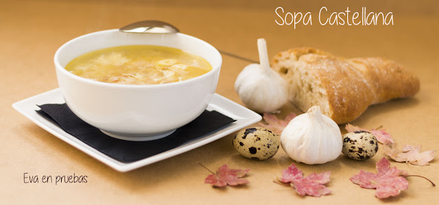 Sopa Castellana. Eva en pruebas