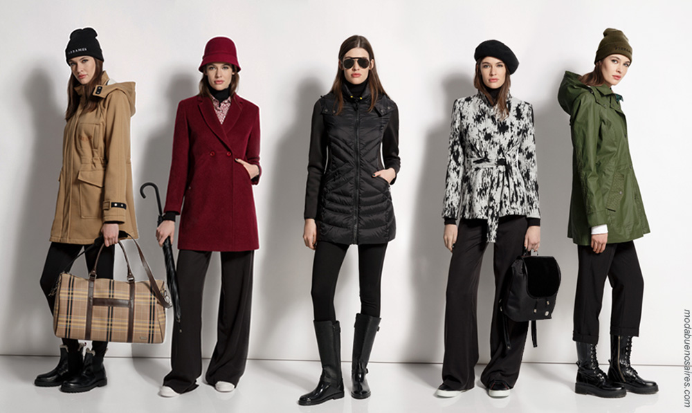 Abrigos moda invierno 2018