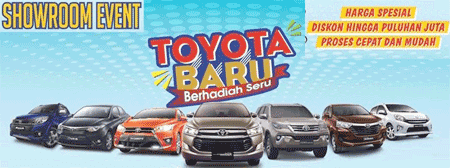 Promo Toyota 2018