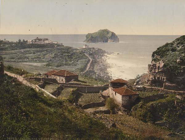 El Diluvio que Inundo Garachico de 1645 en Tenerife (Canarias).