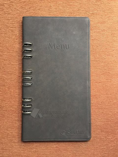 Bìa menu khách sạn
