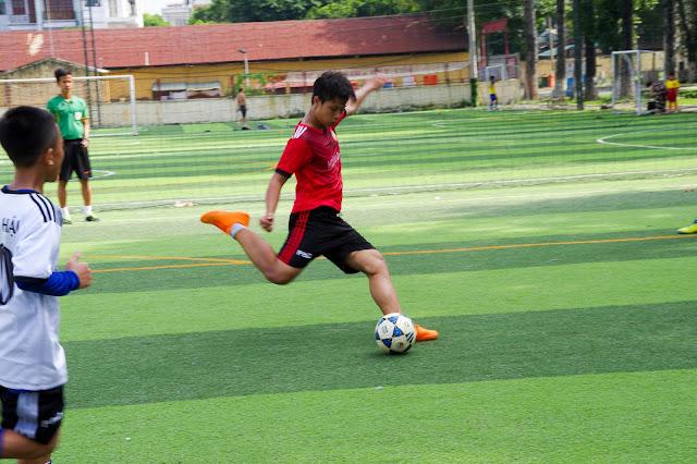 Học bóng đá mang lại nhiều lợi ích tuyệt vời