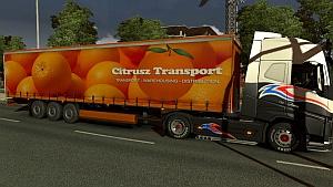 Citrusz Transport trailer