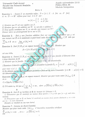 sma s5 tous les cours td controles examens