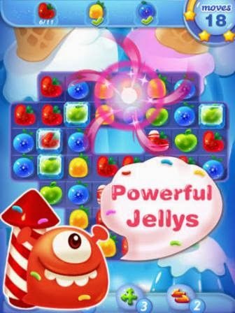 Jolly Jam - Aposta da Rovio contra Candy Crush