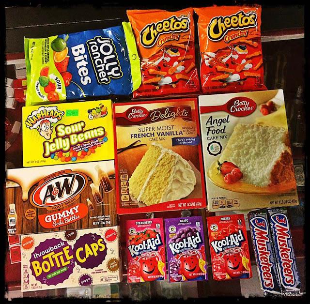 Amerikanische Süßigkeiten und Getränke bei Mr. NICE GUY Bremerhaven ...