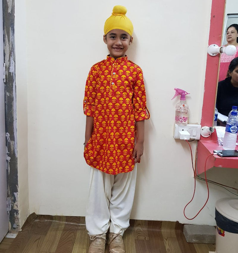 Aakriti Sharma aka Kullfi in sardar look
