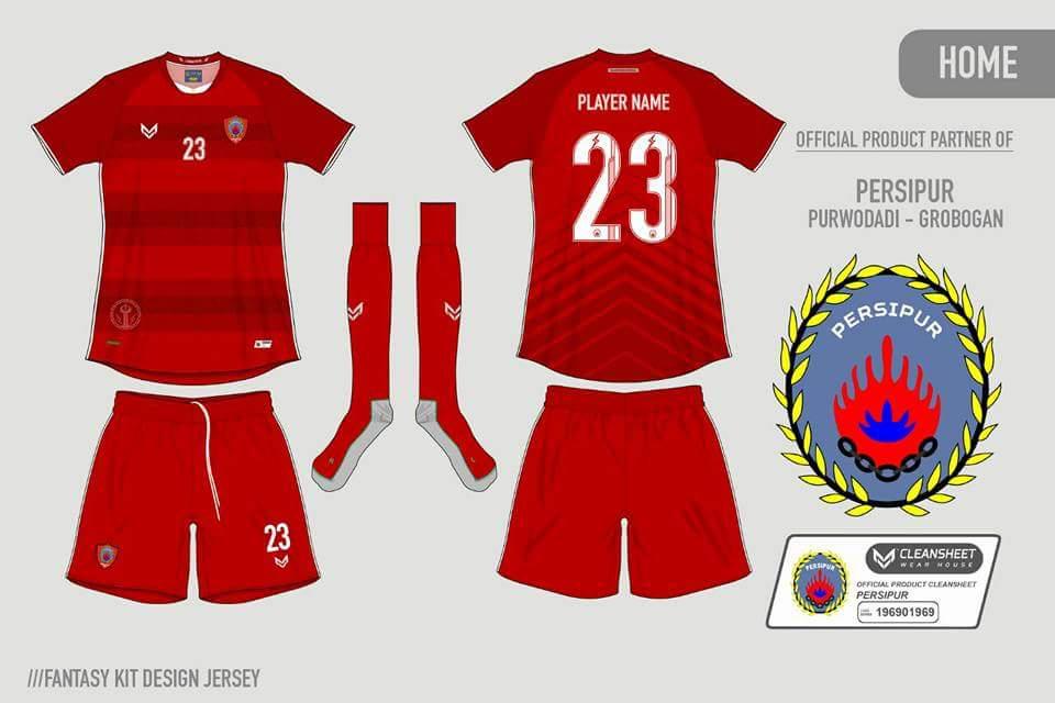 jersey terbaru persipur purwodadi 2017